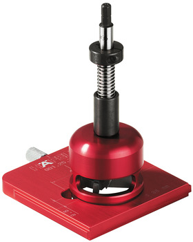 Drill Guide Set, Red Jig Supplement for Concealed Hinges Ø35mm / 45/9.5mm