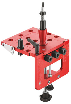 Drilling Jig, Häfele Red Jig Basic Set