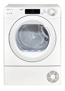 Dryer, NFC, Condensor, Laundry 9 kg, Candy