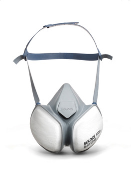 Dust Mask, Compact Half Mask, with A1P2 Filters, Moldex