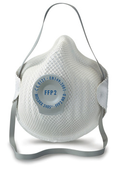 Dust Mask, Disposable, with FFP2 Protection, Moldex