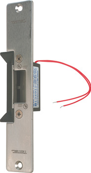 Electric Release, Long Faceplate, for Timber Applications, Cast Aluminium Body