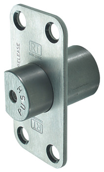 Emergency Release Door Stop, for use with Double Action Pivot Sets, with R8 Corners