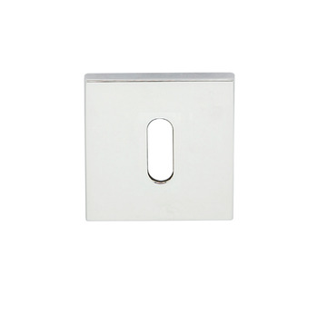 Escutcheon, for Startec Lever Handles, Square, Standard Keyway, Zinc Alloy