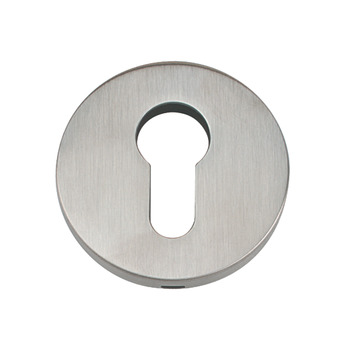Escutcheon Set, Euro, 304 Stainless Steel, FSB