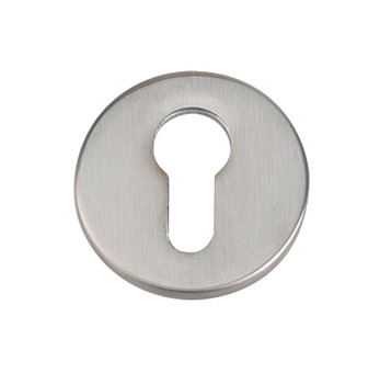 Escutcheons, Euro Profile Cylinder, Ø 52 mm, 316 Stainless Steel