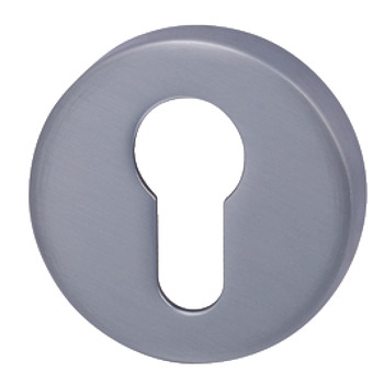 Escutcheons, for Euro Profile Cylinder, Round, Ø 52 mm, Zinc Alloy, RO12