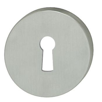 Escutcheons, for FSB Lever Handles, Standard Keyway, Ø 55 mm, 304 Stainless Steel