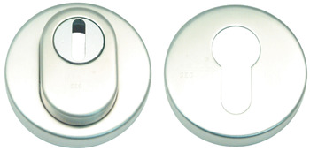 Escutcheons, for HL Lever Handles, Security, Profile Cylinder, 304 Stainless Steel