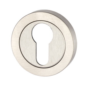 Escutcheons, for Startec Corfu/Ifni Lever Handles, Profile Cylinder, 304 Stainless Steel