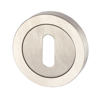 Escutcheons, for Startec Corfu/Ifni Lever Handles, Standard Keyway, 304 Stainless Steel