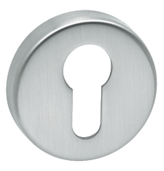 Escutcheons, for Startec Donna/Trio/Lita Lever Handles, Euro Profile Cylinder, Stainless Steel