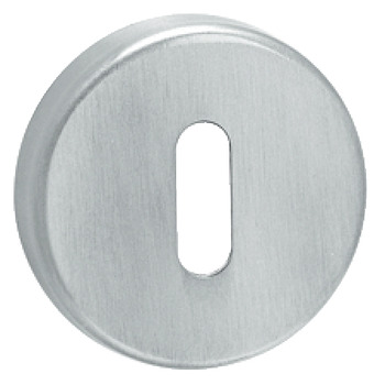 Escutcheons, for Startec Donna/Trio/Lita Lever Handles, Standard Keyway, Stainless Steel