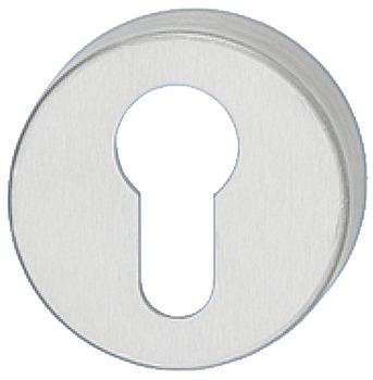 Escutcheons, for Startec Lever Handles, Euro Profile Cylinder, Ø 52 mm, 304 Stainless Steel