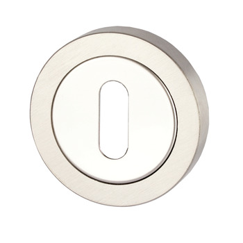 Escutcheons, for Startec Selma/Duo/Duke Lever Handles, Standard Keyway, 304 Stainless Steel
