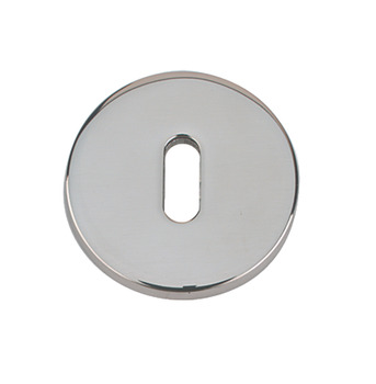 Escutcheons, Standard Keyway, Ø 52 mm, 316 Stainless Steel