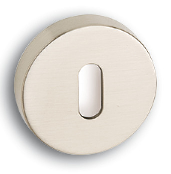Escutcheons, Standard Keyway, Round, Ø 52 mm, Zinc Alloy