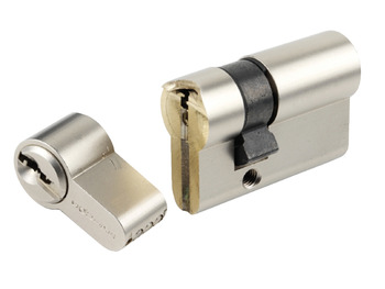 Euro Profile Cylinder, Security, 36/36 mm Length, Snapsafe