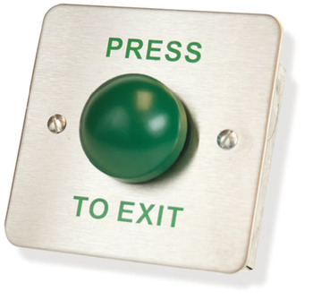 Exit Switch, Green Domed, Heavy Duty, Internal or External Use