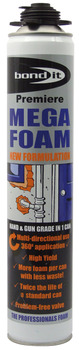 Expanding Foam, Size 750 ml, Mega Foam