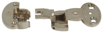 Exposed Axle Hinge Arm, 240° Single Pivot, Screw Fixing, Aximat 300
