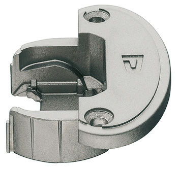 Exposed Axle Hinge Cup, for 270°/240°/180° Single Pivot Hinge Arms, Quick Mounting, Aximat 300