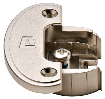 Exposed Axle Hinge Cup, for 270°/240°/180° Single Pivot Hinge Arms, Screw Fixing, Aximat 300