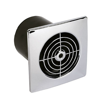 Extractor Fan, Timer Wall or Ceiling, System 100/125/150