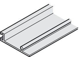 Fascia Profile, for Sliding Glass Interior Doors, Eku-Porta 100