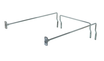 Filing Rails, with Stop Rails, for Drawer Length 450-550 mm