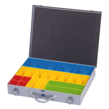 Fitting Case, Single Tier, with Plastic Compartments
