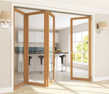 Fitting Set, for Folding Interior Partition Doors, Roomflex