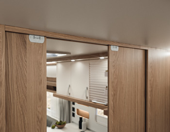 Fitting Set, for Sliding Cabinet Doors, Slido F-Line21 20C