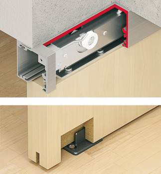 Fitting Set, for Sliding Interior Doors, Slido Classic