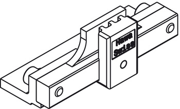 Fitting Set, for Sliding Interior Doors with Simultaneous Action, Hawa-Symmetric 80