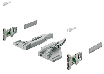Fitting Set, for Vionaro 185 mm High Drawer Sides