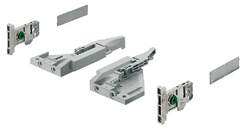 Fitting Set, for Vionaro 89 and 121 mm High Drawer Sides