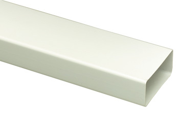 Flat Duct, Flame Retardant PVC, White