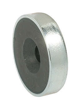 Flat Magnet, Pull 3.6 kg, for Screw Fixing, for Metal Cabinets