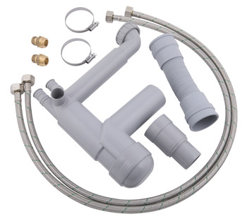 Flexible Plumbing Kit, for Flexi Height Adjustable Worktop System, Ropox