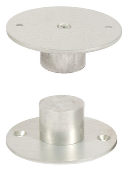 Floor and Ceiling Post Holder, for Floor to Ceiling Posts, Cubicle Fittings