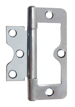 Flush Hinge, Light Duty, for Inset Doors, Length 75 mm, Mild Steel