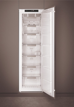 Freezer, Built-in, In Column, Total Capacity 216 Litres, Smeg
