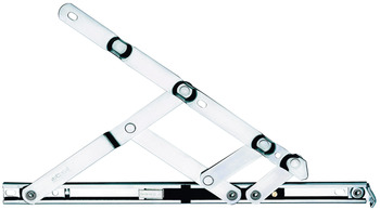 Friction Hinge, Restrictor, for Side or Top Hung Windows, Stainless Steel or Brass