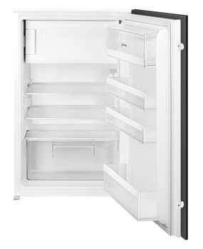Fridge, Built-in, In Column, with Ice Box, Total Capacity 129 Litres, Smeg