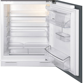 Fridge , Built-in, Under Worktop, Larder, Total Capacity 140 Litres, Smeg