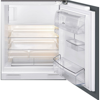 Fridge, Built-in, Underworktop, with Ice Box, Total Capacity 122 Litres, Smeg