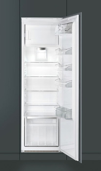 Fridge Freezer, Built-in, In Column Larder with Freezer Compartment, Total Capacity 298 Litres, Smeg