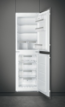 Fridge Freezer, Built-in, In Column, Total Capacity 269 Litres, Smeg