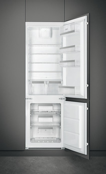 Fridge Freezer, Built-in, In Column, Total Capacity 277 Litres, Smeg